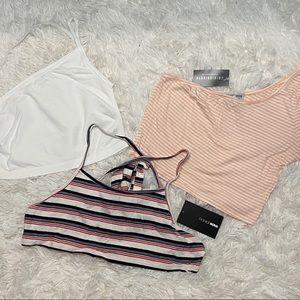 ✨NEW✨ Fashion Nova Crop Tops
